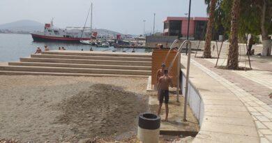Sarandë, pas 30 viteve rikthehen dushet e plazhit me uje të ëmbël