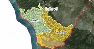 Kadastra harton hartat për dy blloqe në Lukovë, janë 1105 pasuri të paluajtshme: 45 ditë kohë për pronarët të paraqesin ankesat