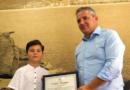 """Violinisti i talentuar Martin Xuxi,vlerësohet me certifikatë """"Mirënjohjeje"""""""